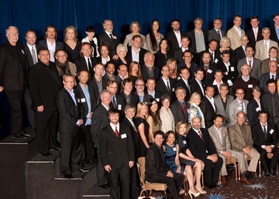Все номинанты на «Оскар-2012» на одном фото. Изображение № 1.