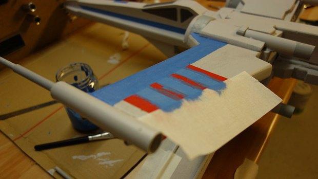 Энтузиаст собрал дрон в виде истребителя X-Wing. Изображение № 14.