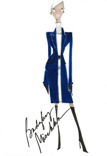 Дизайн одежды дляМишель Обамы. Изображение № 1.