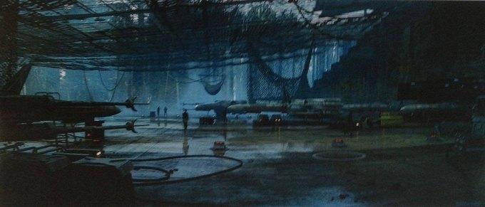 В Сеть выложили 32 концепт-арта для «Звёздных войн VII». Изображение № 14.