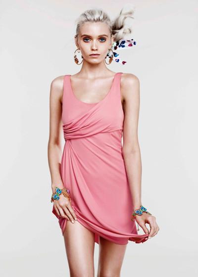 Лукбук: Эбби Ли Кершо для Versace for H&M Cruise 2012. Изображение № 4.