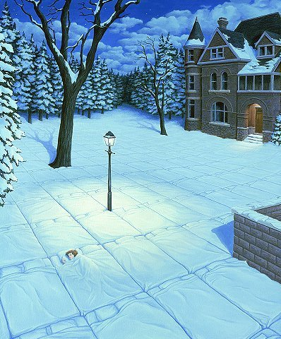 Amazing pictures by Rob Gonsalves. Изображение № 10.
