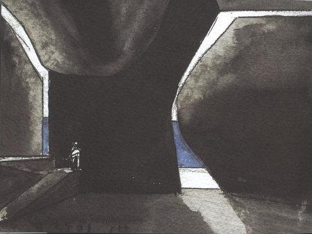 Архитектурные акварели стивена холла. Изображение № 11.
