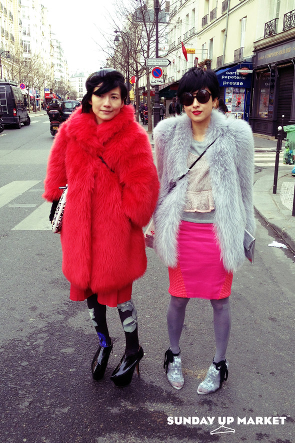 Sunday Up Market на неделе моды в Париже: streetstyle. Изображение № 4.