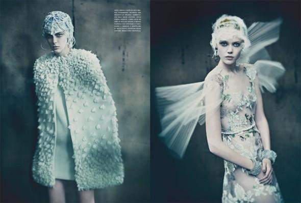 Съемка: Фрида Густавссон, Жак Ягачак и Кристина Салинович для Vogue. Изображение № 11.