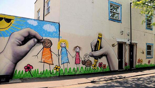 Большая коллекция уличного искусства. Изображение № 17.