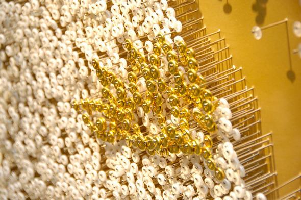 Тысячи мелочей: Настенные панно Рен Хванг. Изображение № 5.