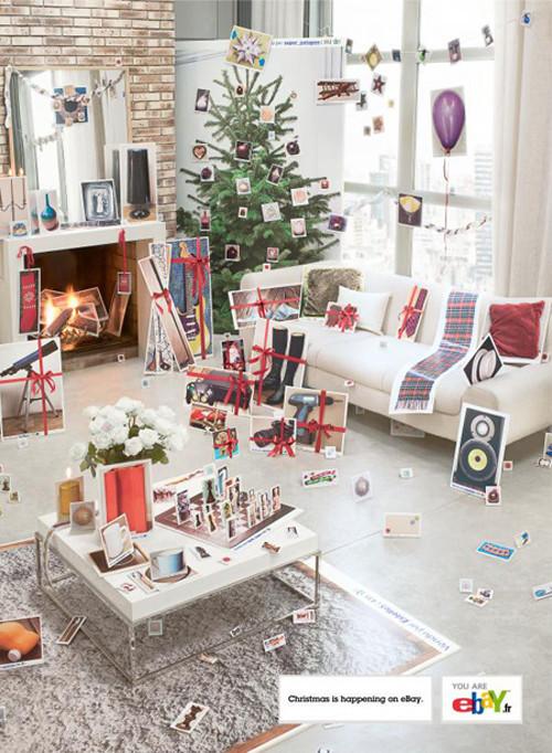 Новогоднее - Рождественский креатив в рекламе. Изображение № 26.