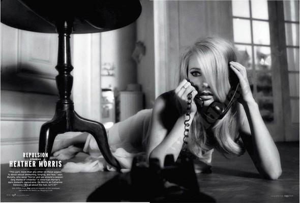 Съёмка: Актрисы из «Хора» и «Американской Истории Ужасов» для Elle. Изображение № 8.