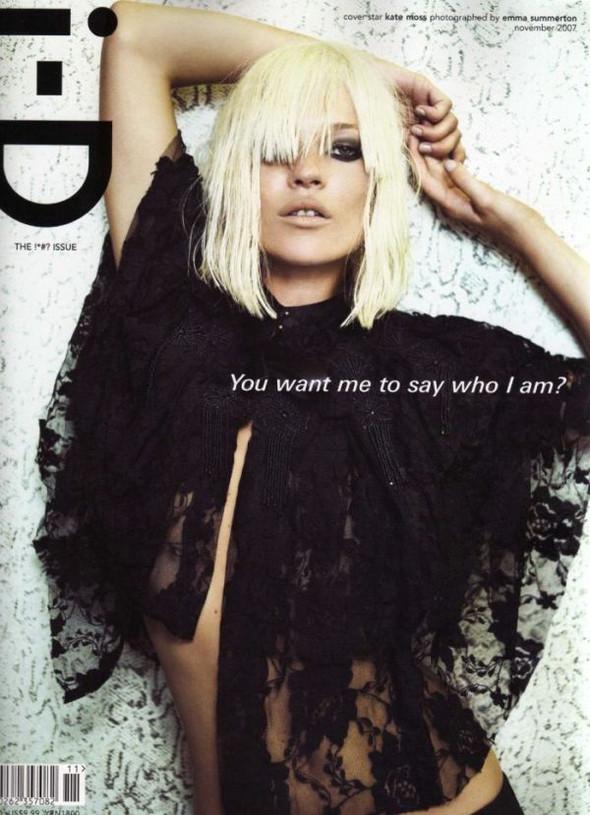 Кейт Мосс, наобложках главных модных журналов планеты. Изображение № 22.