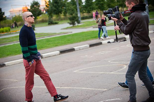 "Backstage съемок клипа Андрея Звонкого ""Суперстар"". Изображение № 8."