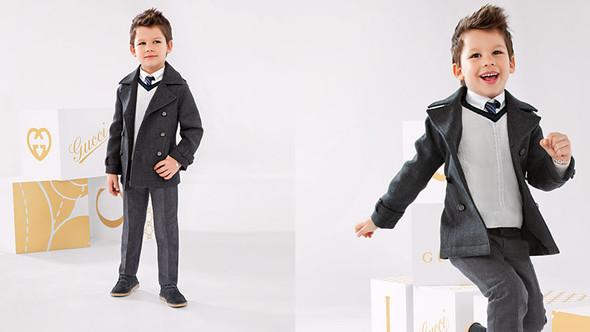 Все лучшее детям: лукбуки D&G, Gucci, John Galliano, Burberry. Изображение № 38.