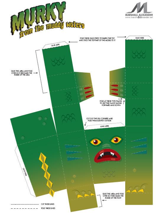 Бумажные зверьки (часть 2). Изображение № 2.