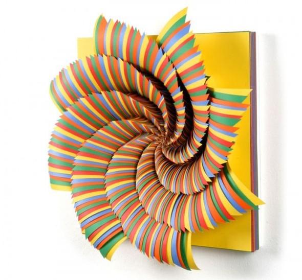 Абстракция из цветной бумаги. Изображение № 20.