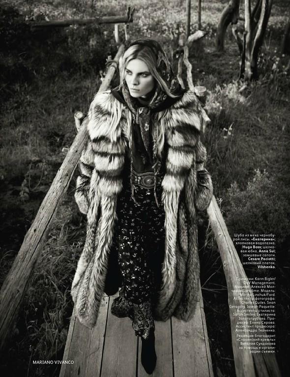 Съёмка: Марина Линчук для российского Vogue. Изображение № 3.