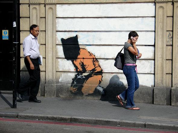 Изображение 21. Banksy (уличная мышь – герой).. Изображение № 21.