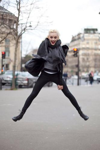 Нерабочее время: Блоги об уличном стиле моделей. Изображение № 14.