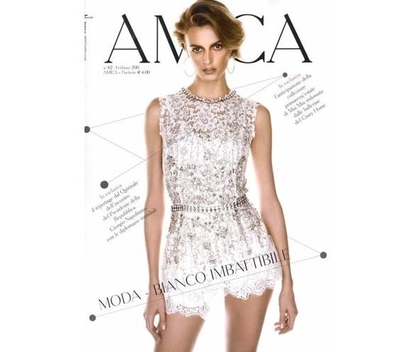 Изображение 1. Коллекция Dolce & Gabbana SS 2011 появилась на 42 обложках журналов.. Изображение № 7.