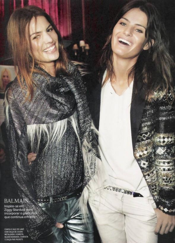 Съёмка: фотографии с бэкстейджей в бразильском Vogue. Изображение № 2.
