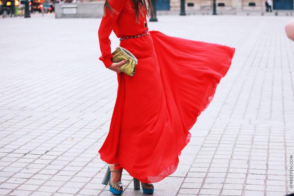 Уличный стиль на Неделе высокой моды в Париже. Изображение № 122.