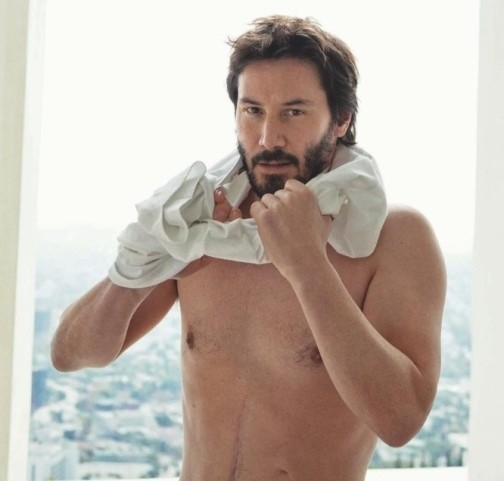 Keanu Reeves for Vogue Hommes. Изображение № 6.