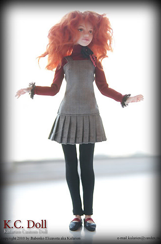 K.C.Doll. Миниатюра на шарнирах. Изображение № 19.