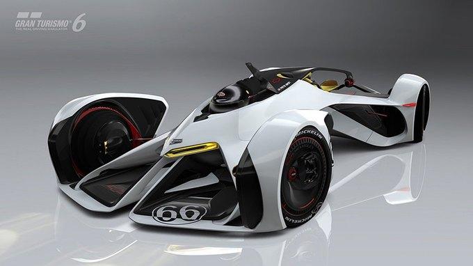Chevrolet создала суперкар для Gran Turismo. Изображение № 1.