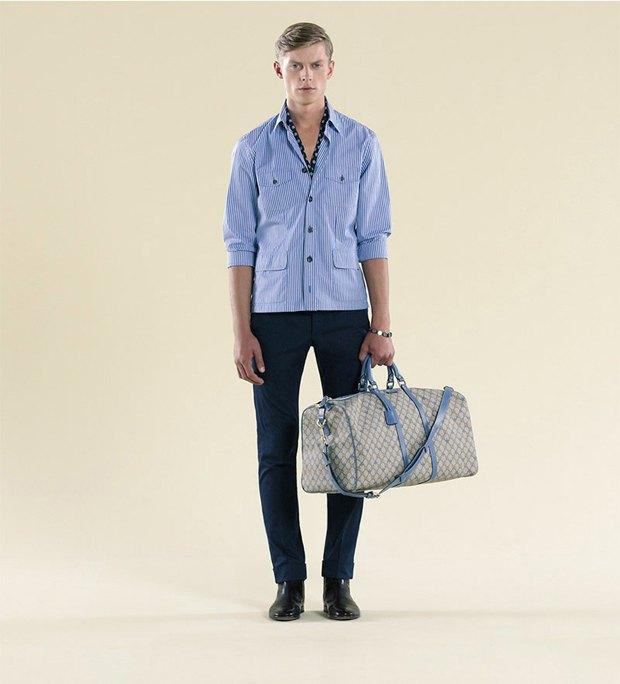 Показаны новые лукбуки Gucci, Louis Vuitton и Prada. Изображение № 49.