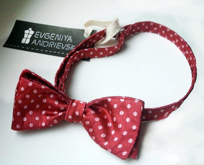 Фееричные галстуки - бабочки от дизайнера Евгении Андриевской.. Изображение №1.