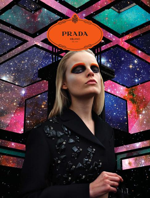 Новый лукбук Prada Real Fantasies посвящен космосу. Изображение № 1.