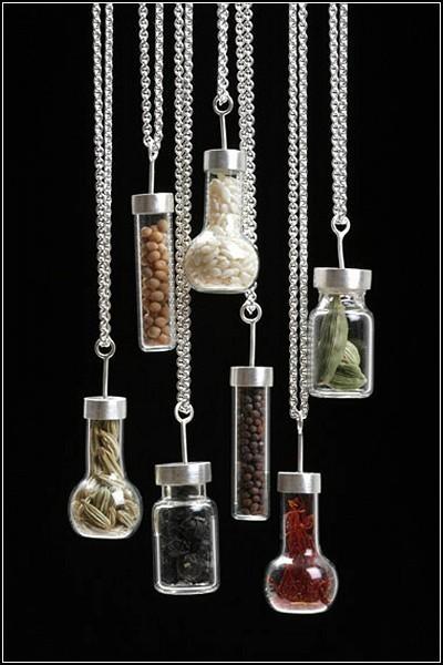 Изображение 5. Spice series: ювелирные украшения со специями от художницы Сары Худ (Sarah Hood).. Изображение № 5.