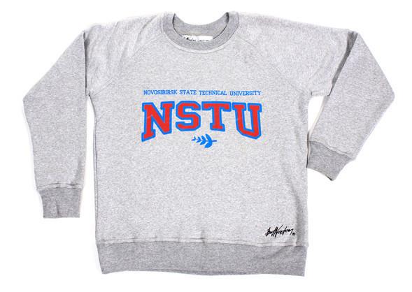 Bat Norton выпустили толстовки с логотипами - названиями университетов в исконно американском стиле. Изображение № 11.