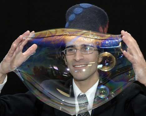 Самый большой вмире мыльный пузырь. Изображение № 15.
