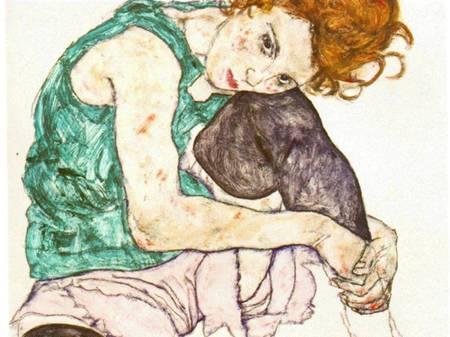 Эгон Шиле. Эротика вискусстве живописи ирисунка. Изображение № 29.