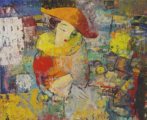 Игорь Чолария – мастер контрастной, яркой живописи. Изображение № 10.