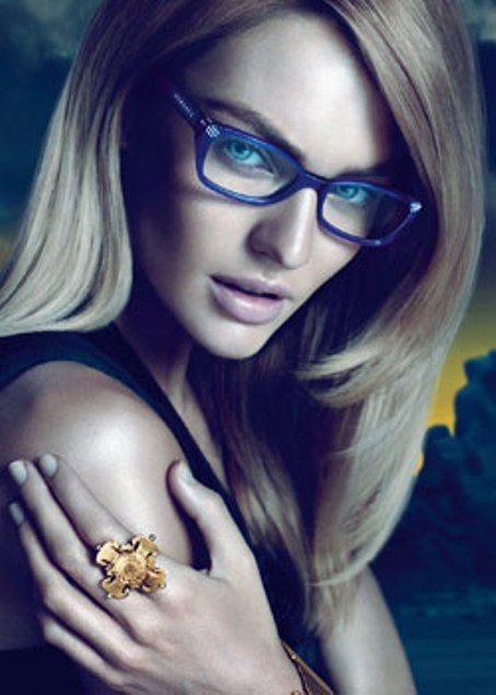 Кампания: Versace Eyewear FW 11. Изображение № 2.