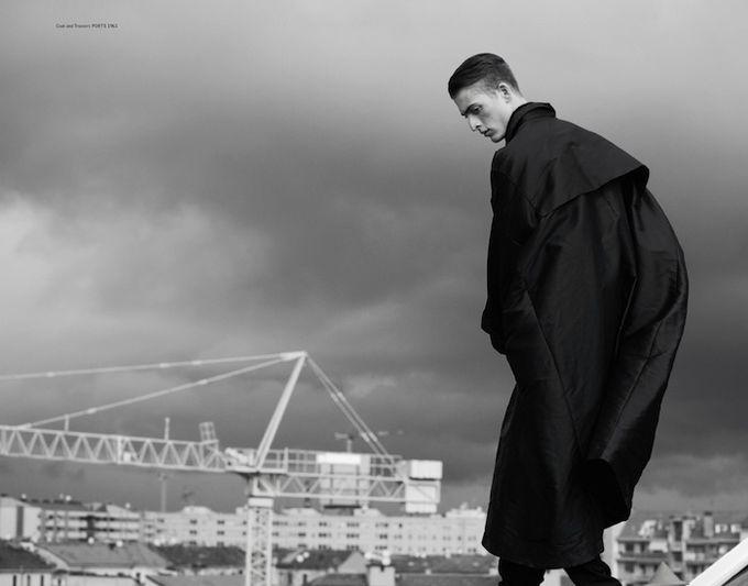 Вышли новые мужские съемки из Citizen K, Fashionisto, Vogue и других журналов. Изображение № 10.