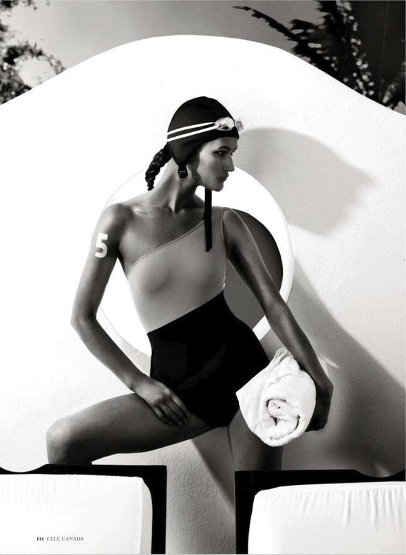 Съемки: Numero, Vogue, W и другие. Изображение №4.