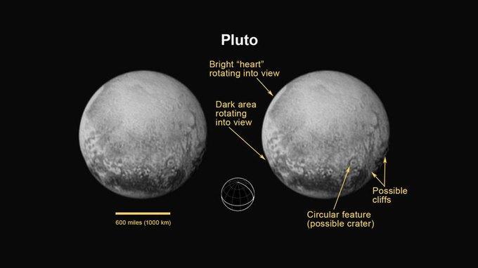 NASA опубликовало новые фото Плутона и Харона . Изображение № 2.