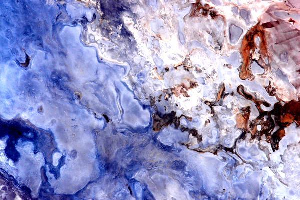 Астронавт выложил абстрактные фотографии Австралии с орбиты. Изображение № 7.