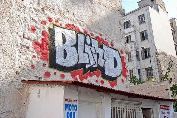 Стрит-арт и граффити Афин, Греция. Часть 2. Изображение № 26.