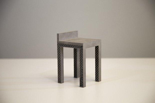 «Умный» дизайн стула, созданный Autodesk (вес 4,1 кг). Изображение № 2.