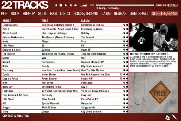 22 Tracks. Изображение № 3.