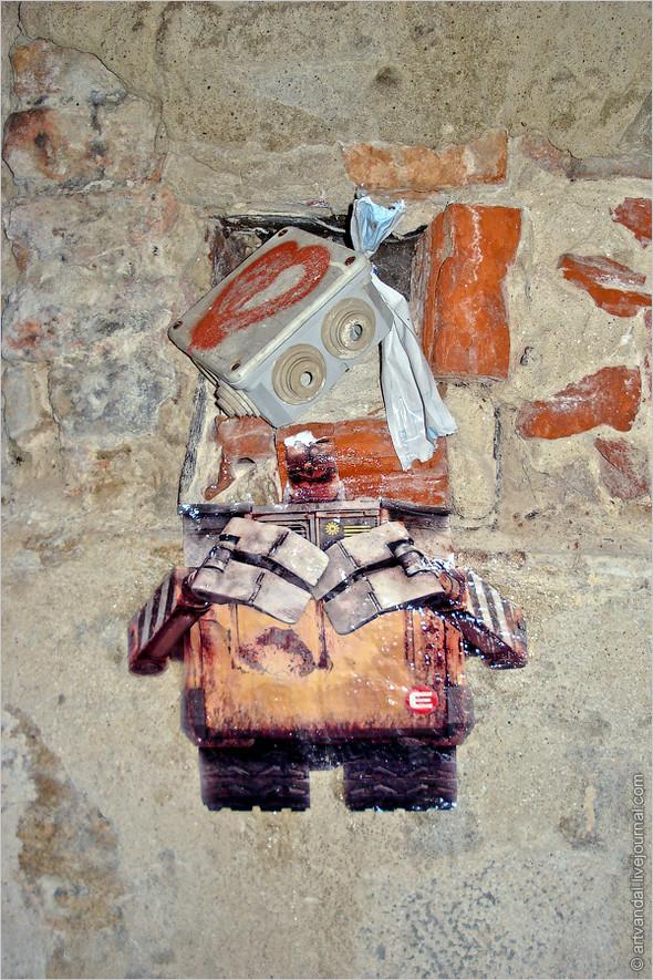 Стрит-арт и граффити Братиславы, Словакия. Изображение № 44.