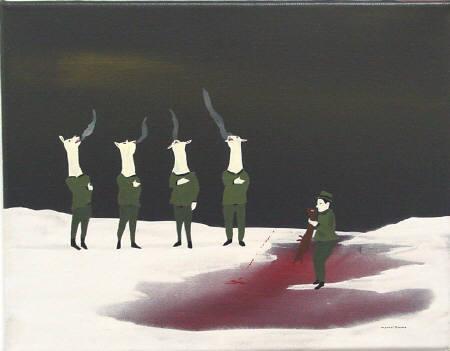 Канадский художник Marcel Dzama. Изображение № 16.