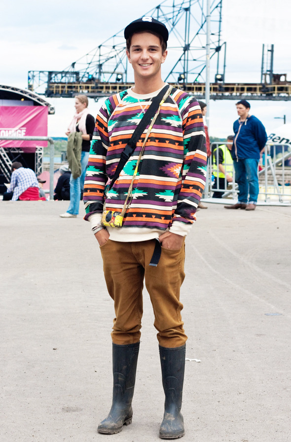 Золотые шорты, джинсовые рубашки и шляпы: Люди на фестивале MELT!. Изображение № 26.