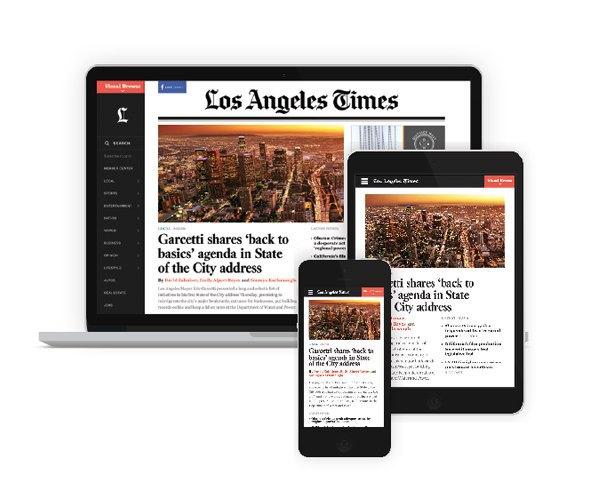 Издание Los Angeles Times представило редизайн сайта . Изображение № 4.