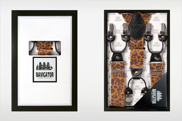Коллекция подтяжек «Навигатор» от Sevaro Elit . Изображение № 10.
