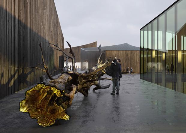 Показан проект Музея Гуггенхайма в Хельсинки . Изображение № 9.