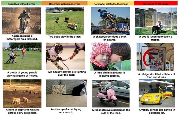 В Google компьютер научили описывать сцены на фотографиях. Изображение № 3.